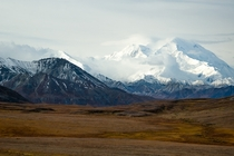 Looking back at this photo I took of Denali a few years ago makes me want to get back into photography again
