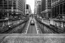 Looking Down Park Ave - Manhattan NYC -