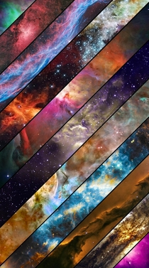 Looking for a similar wallpaper that is Triangles of each Nebula instead of this type that was posted on this site years ago