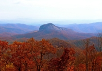 Looking Glass Rock North Carolina - Late Autumn