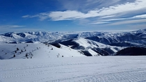 Looking south from Bald Mountain Sun Valley Idaho