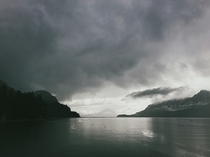 Looking south on the Sea to Sky Highway Porteau Cove BC Canada x