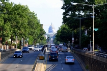 Looking south to the US Capitol - Washington DC