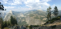 Looking through old vacation photos and found this one of Half Dome and its surroundings Yosemite National Park California