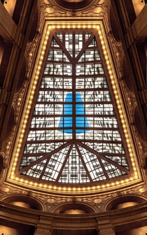 Looking up at the David Whitney Building - Detroit MI
