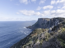 Looking west from Cape Pillar Tasmania