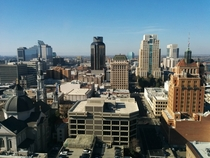 Looking west on a crystal clear Sacramento day  xpost from rSacramento