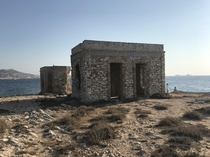 Lookouts from WW Paros Greece