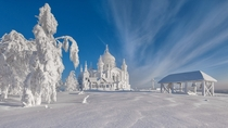 Looks like textures arent rendering again Belogorsky Convent Russia Ural Perm krai