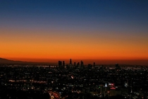 Los Angeles at Sunrise
