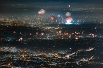 Los Angeles July th Fireworks