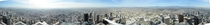 Los Angeles mosaic from the top of its tallest building