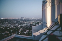 Los Angeles Skyline from Griffith Observatory