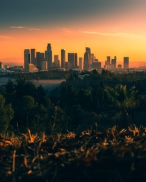 Los Angeles sunsets with no smog