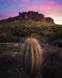 Lost Dutchman Wilderness Area Phoenix AZ oc