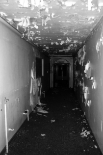 Lost in Fairfield Hospital with only the camera flash for light