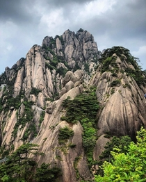 Lotus Peak at Huangshan China