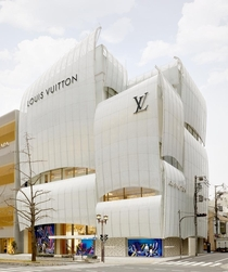 Louis Vuitton Flagship Store in Osaka  Jun Aoki and Peter Marino