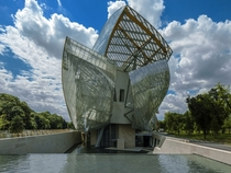 Louis Vuitton Foundation for Creation by Frank Gehry
