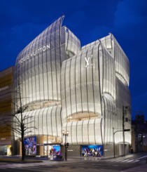 Louis Vuitton Store Osaka  Architect Jun Aoki and interior designer Peter Marino