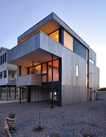 Love Shack beach house - Strathmere NJ  Designed by Ambit Architecture