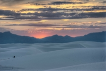 Love visiting Whites Sands NM at sunset Photo by Aaron B