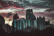 Loved the Atlanta sunset tonight