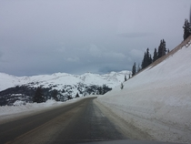 Loveland Pass Colorado  Taken this morning with my Galaxy S