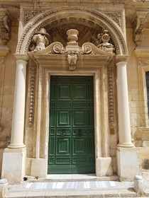 Lovely doorway in Mdina Malta