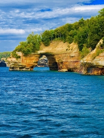 Lovers Leap Pictured Rocks National Lakeshore Michigan US
