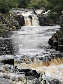 Low Force Waterfall County Durham UK