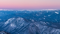 Low Tatras sunset view