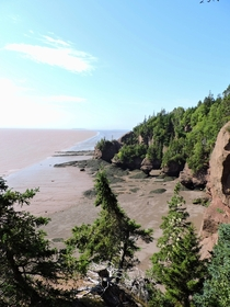 Low Tide At Hopewell Rocks NB