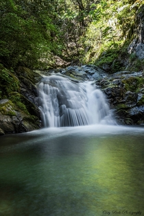 Lower Brandy Creek Falls near Redding California
