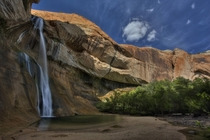 Lower Calf Creek Falls Grand Staircase-Escalante National Monument Utah USA