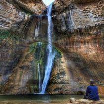 Lower calf creek falls Utah