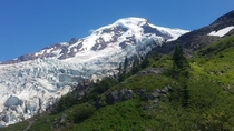 Lower Coleman Icefall Mount Baker WA