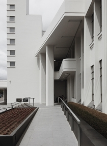 Lower Hutt Municipality Building New Zealand King Cook amp Dawson  Post-WW functional modernism