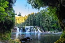 Lower Lewis Falls WA