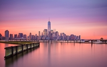 Lower Manhattan at Dawn -