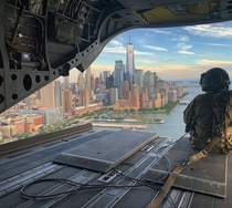 Lower Manhattan from Army Chinook