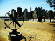 Lower Manhattan from the Brooklyn Heights Promenade - Brooklyn NY