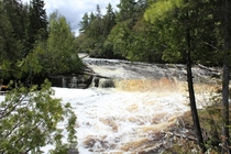 Lower Tahquamenon Falls - Paradise Michigan - Upper Peninsula