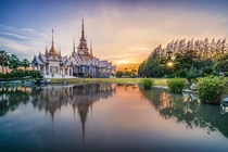 Luang Phor temple in Eastern Thailand