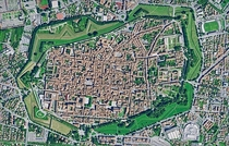Lucca Italy The walled city