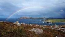 Lucky timing on the Dingle Peninsula Ireland Oct