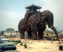 Lucy the Elephant Margate City NJ Pic taken in the s Richard Wentworth