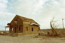 Ludlow California This is the abandoned Pendergast Hotel which also served as the towns post office in the s Ludlow sits on old route  and remains one of the best noncommercialized ghost towns in the Mojave Desert