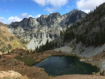 Luella Lake in the Trinity Alps Wilderness California US