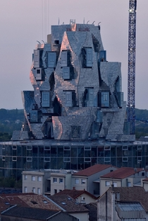 LUMA Arles Tower by Frank Gehry in the south of France